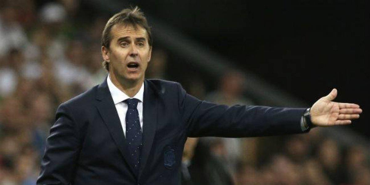 Julen Lopetegui será el nuevo director técnico del Real Madrid