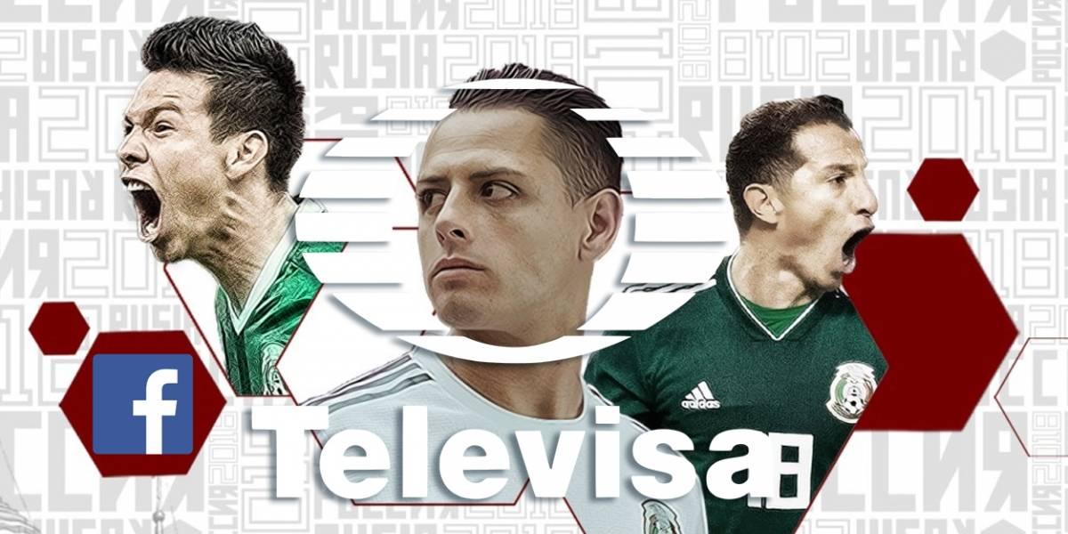 México: Televisa usará Facebook para su cobertura del Mundial de Rusia 2018