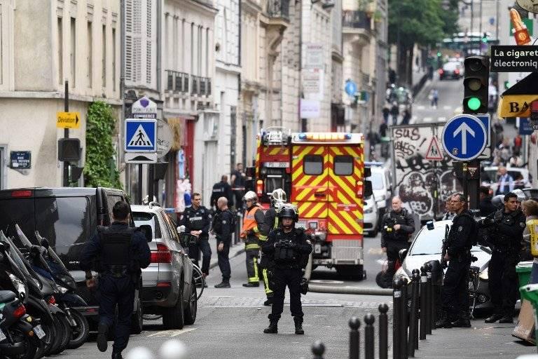 Toma de rehenes en París