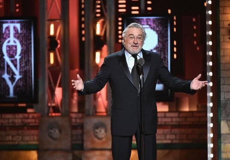 Robert De Niro en los premios Tony