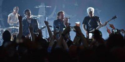 Concierto de U2 en el Teatro Apollo