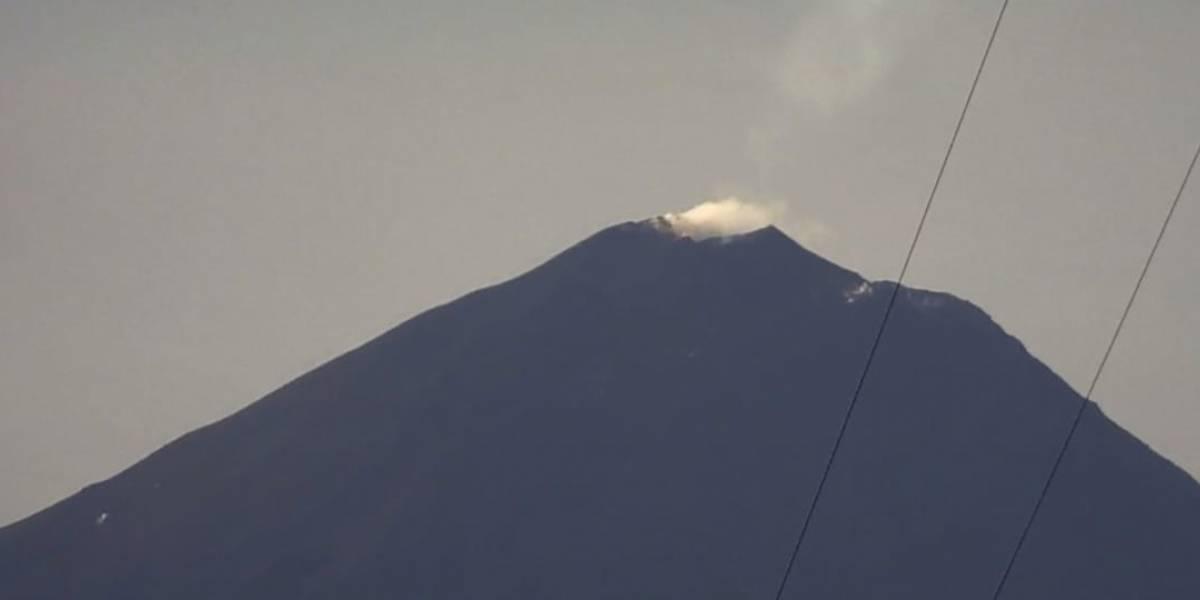 Insivumeh reporta incremento de actividad del volcán Pacaya