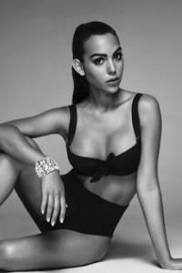 Georgina Rodriguez, novia del futbolista portugués Cristiano Ronaldo