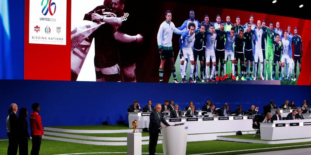 Copa do Mundo de 2026 será nos Estados Unidos, Canadá e México