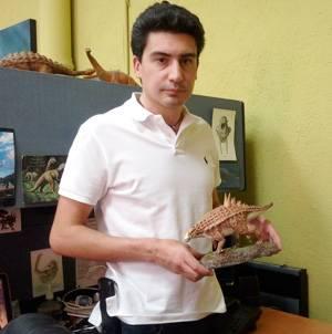 Uno de los investigadores