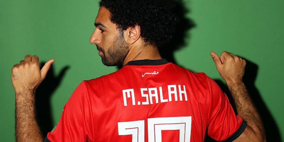 Salah intensificó los entrenamientos y apunta a titular frente a Uruguay