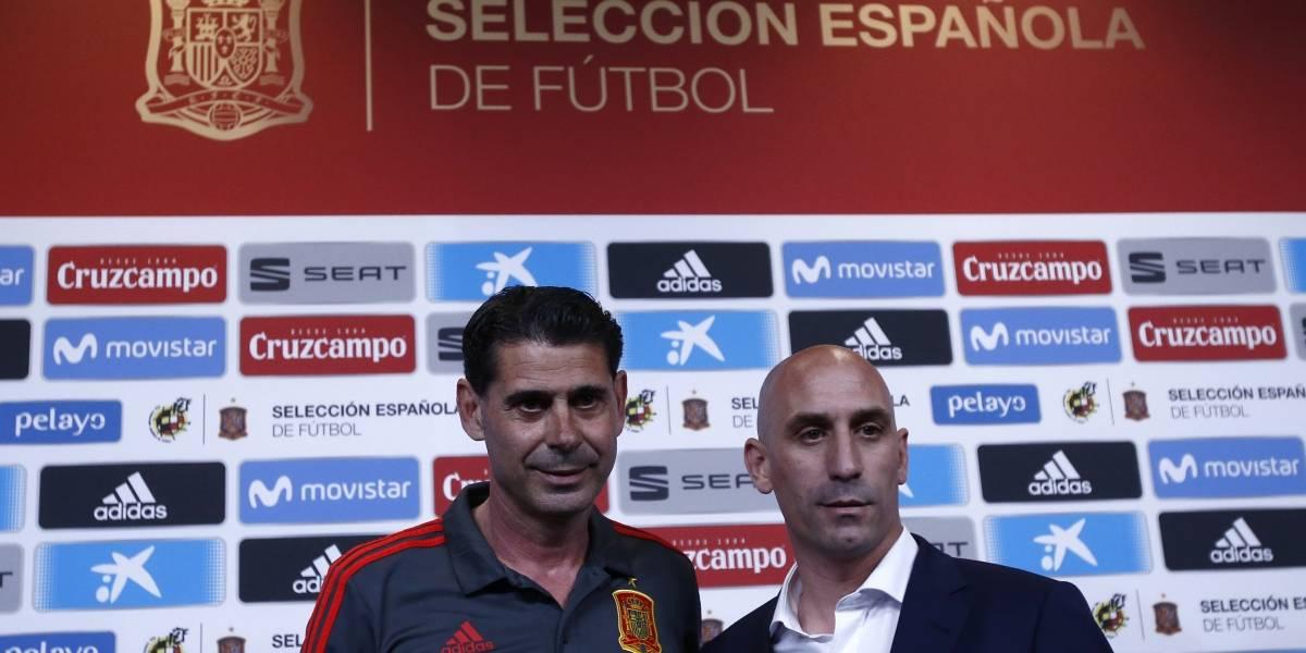 """Fernando Hierro tomó el fierro caliente: """"No es un día fácil para nadie"""""""