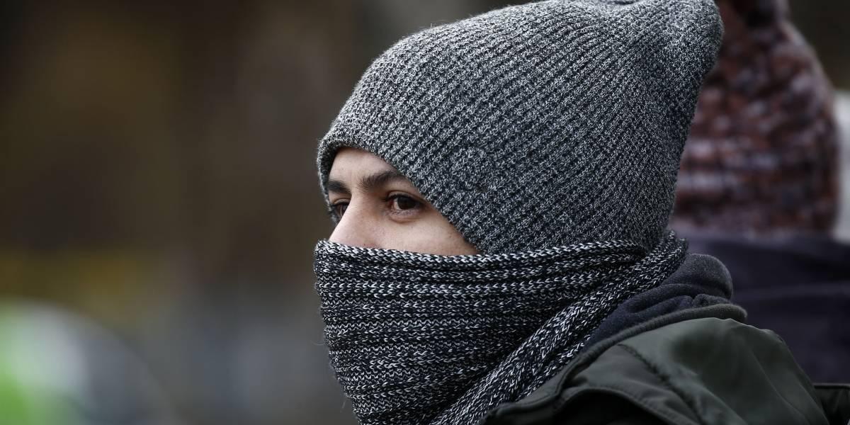 """""""Ta' helao Juan"""": Hoy se registró la mañana más fría del año en Santiago"""