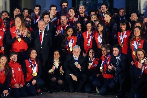Piñera deportistas