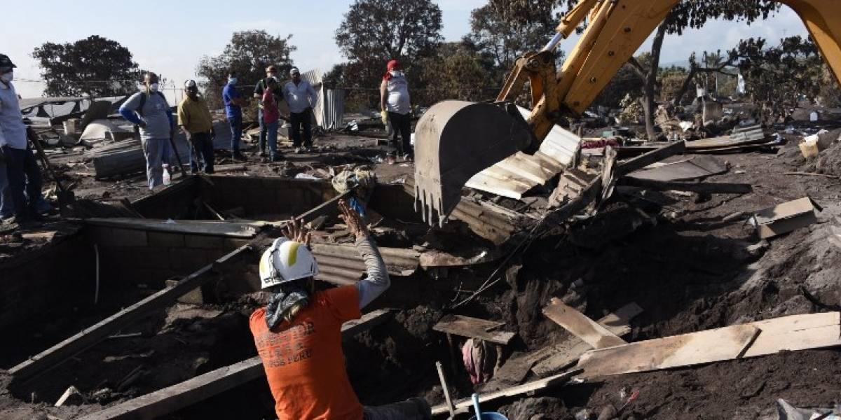 Se reanuda la búsqueda de víctimas en zona afectada por erupción