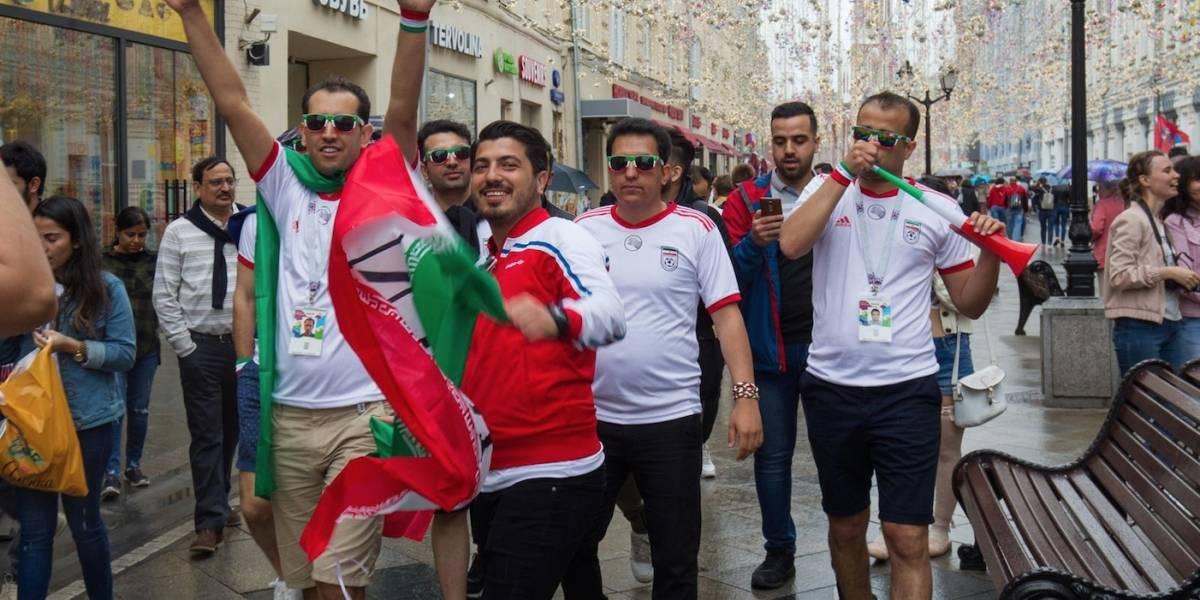 Fan Fest inprovisado se toma el centro de Moscú previo al incio de Rusia 2018