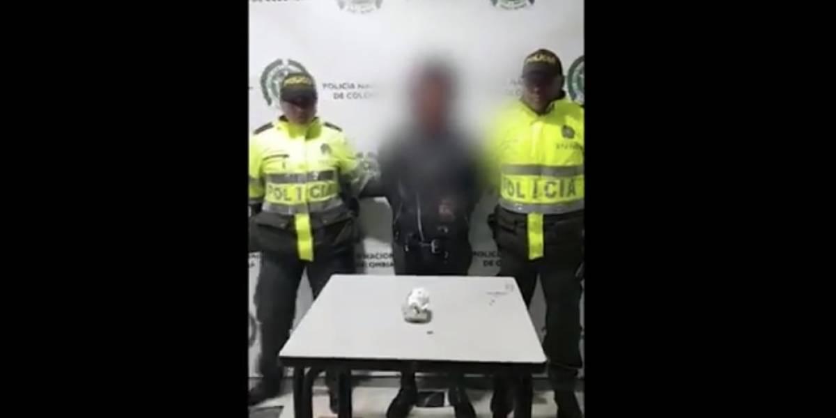 Policía de Bogotá capturó a 'Marilyn Manson', acusado de actos vandálicos en iglesias de la ciudad