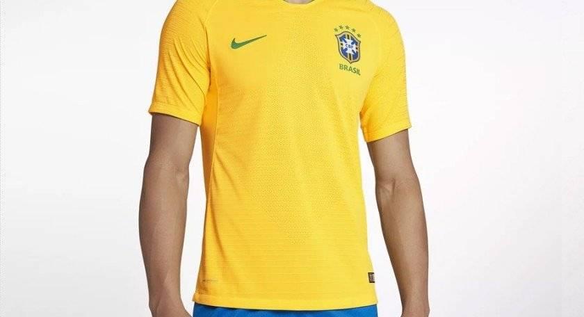 Camiseta original de la selección de Brasil