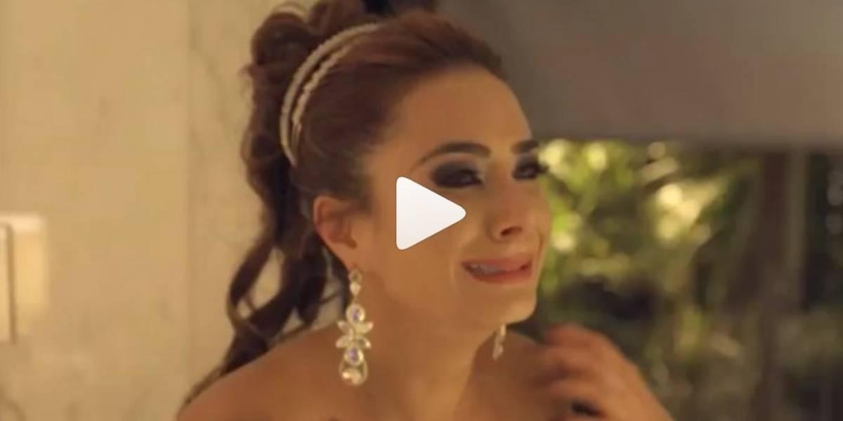 [VIDEO] Johanna Fadul lloró al despedirse de Sin tetas sí hay paraíso