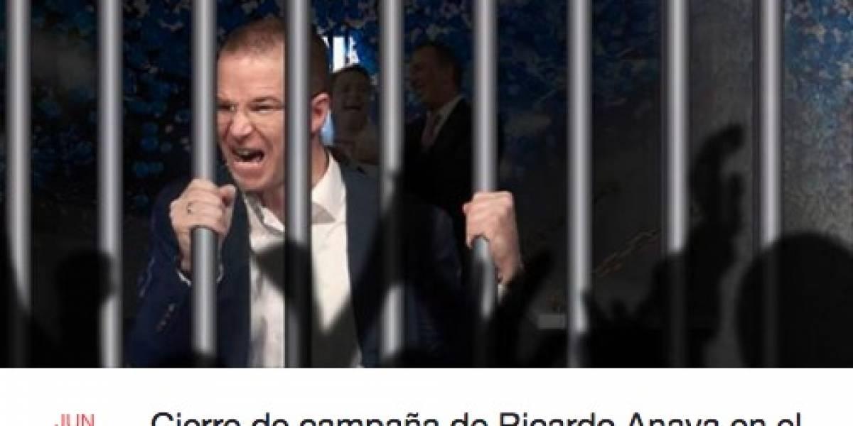 Organizan en Facebook cierre de campaña en Reclusorio Norte para Ricardo Anaya