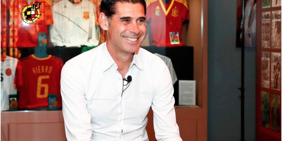 Fernando Hierro, nuevo técnico de la selección de fútbol de España