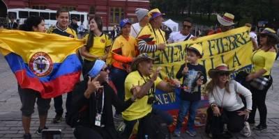 Colombianos envían mensaje a Guatemala desde Rusia
