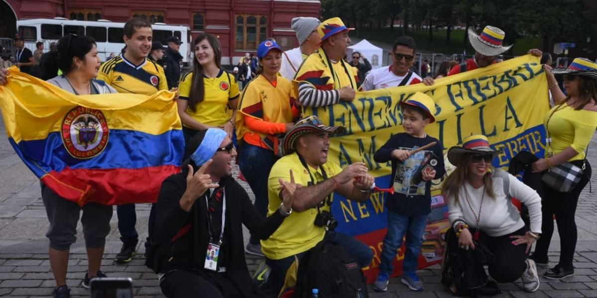 Colombianos que viven la fiesta del Mundial en Rusia envían mensaje a damnificados #FuerzaGuate