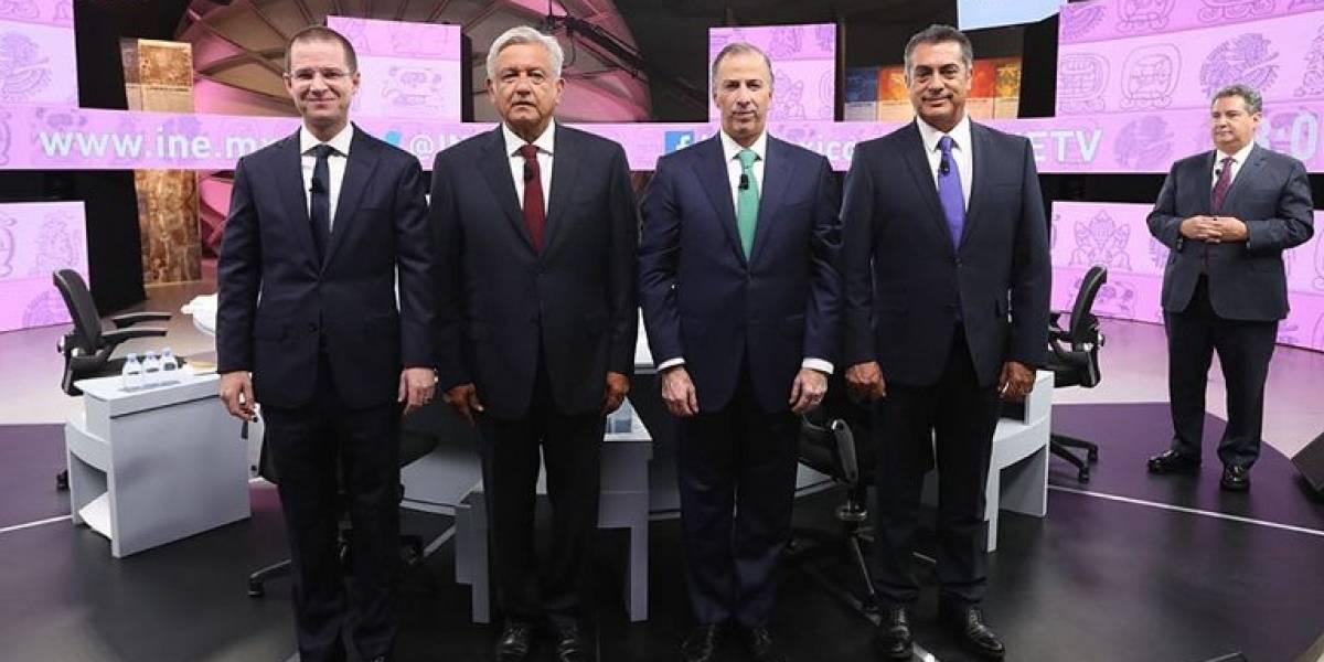 Acusaciones de corrupción dominaron último debate presidencial de México