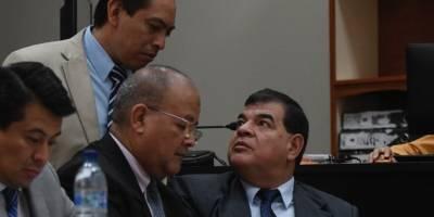 exfiscal Rony López en audiencia del caso Manipulación de Justicia