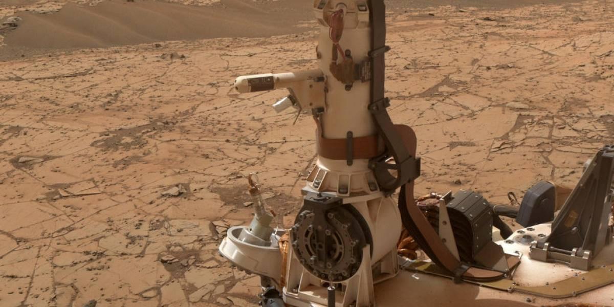 Tormenta de arena deja sin batería a sonda de la NASA en Marte