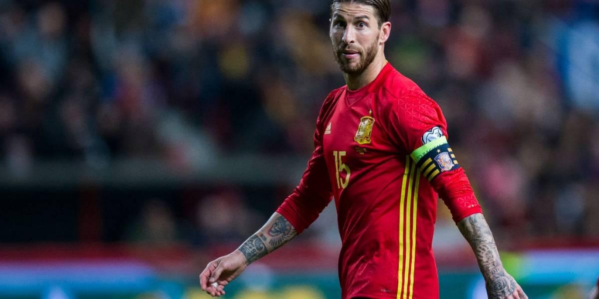"""El mensaje de Sergio Ramos tras la destitución de Lopetegui: """"La responsabilidad y el compromiso es la selección"""""""