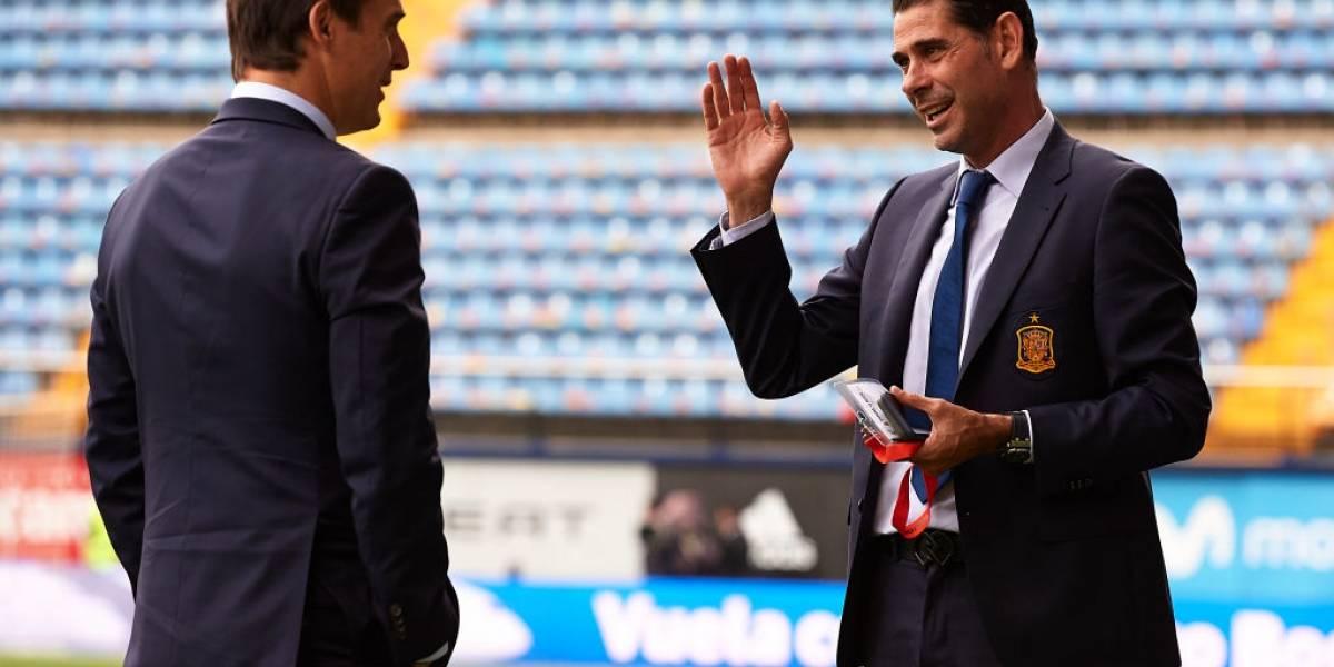 España nombra a Fernando Hierro como su nuevo entrenador tras destitución de Lopetegui