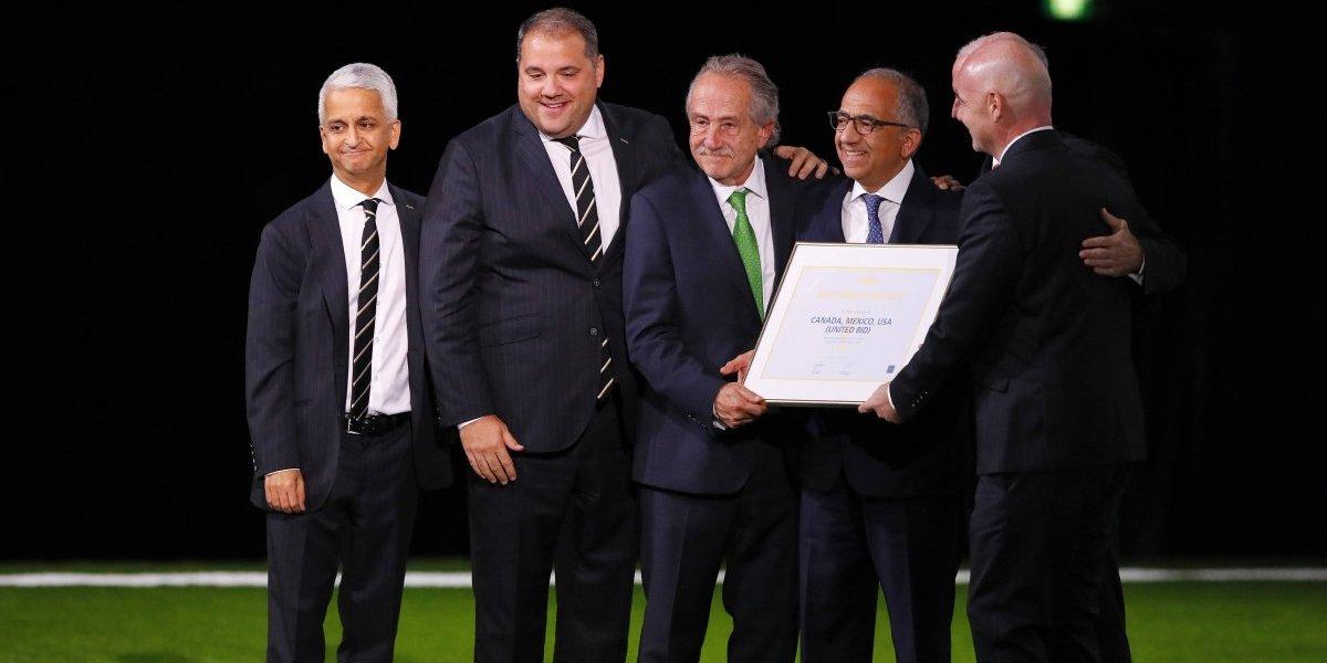 México será sede para el Mundial 2026 junto a Estados Unidos y Canadá