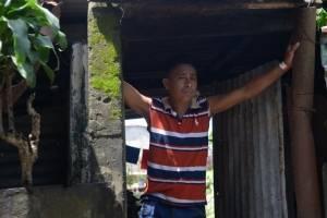 afectados por erupción del volcán de Fuego en aldea El Rodeo, Escuintla