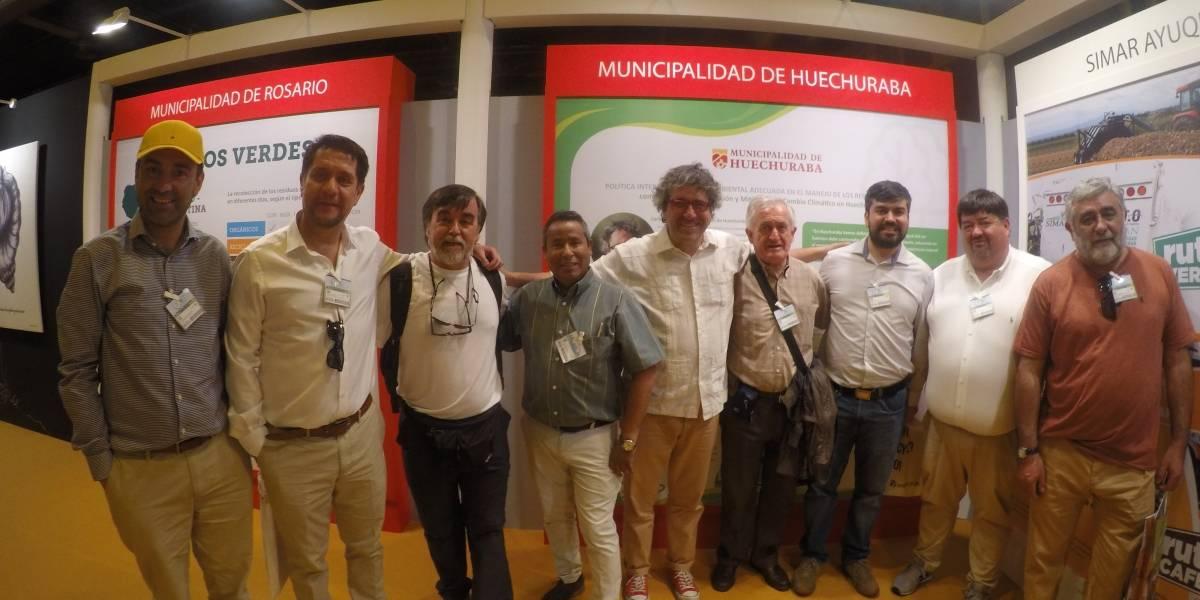 Alcalde recibirá la Escoba de Plata: Huechuraba será premiada en Madrid por su gestión ambiental