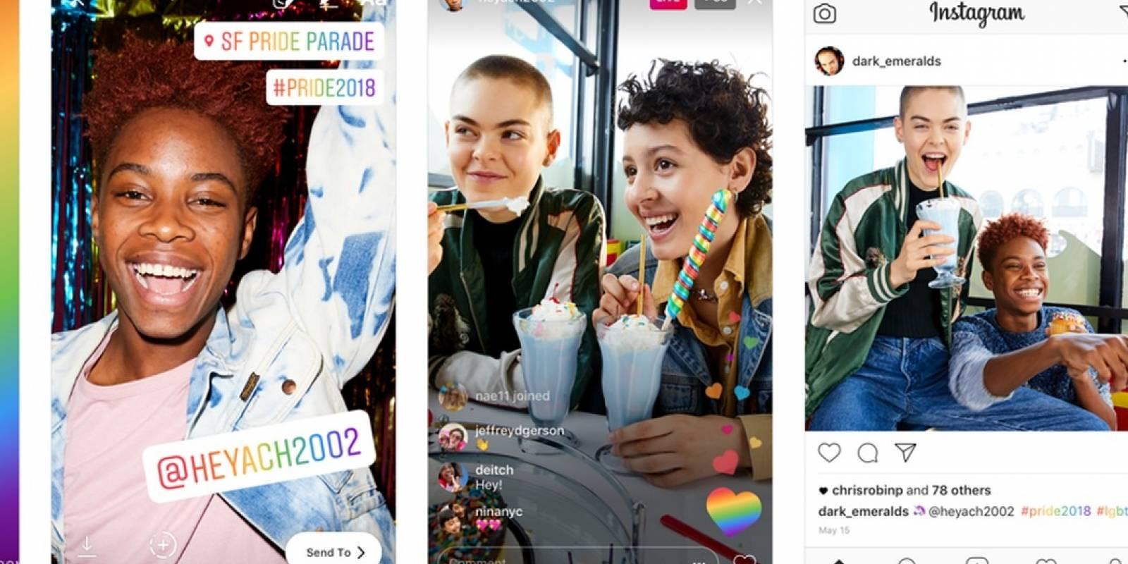 Instagram Pride