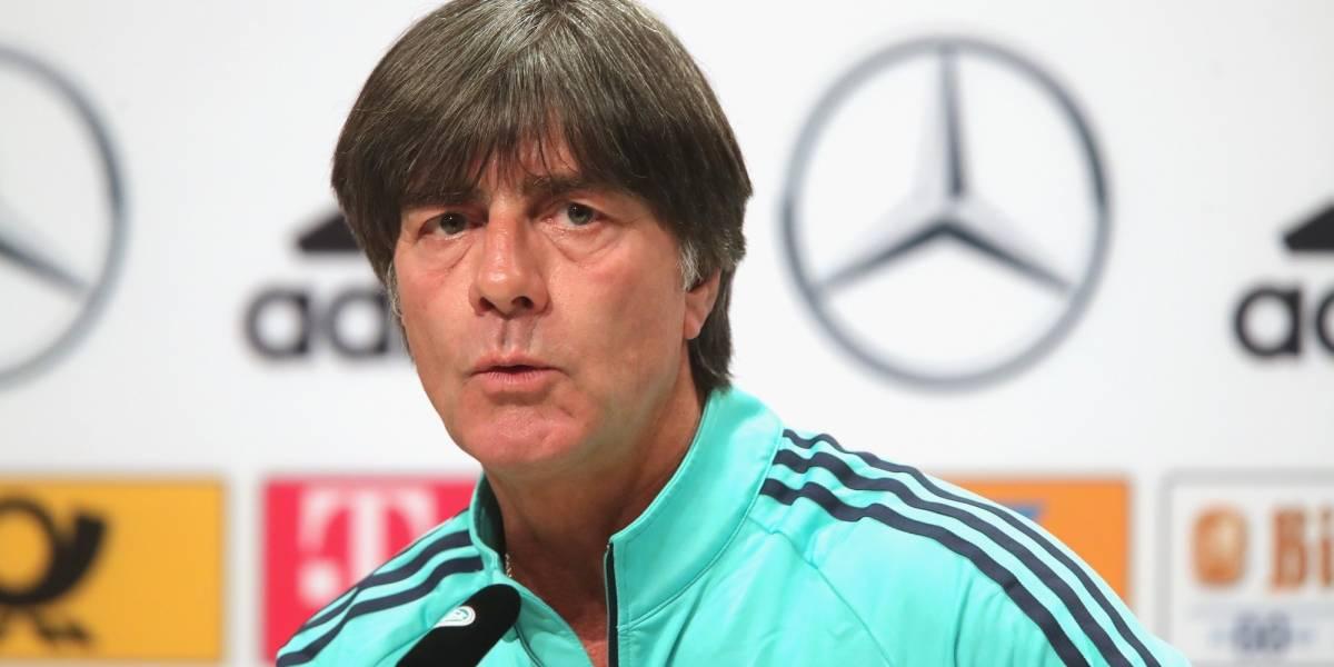 Joachim Löw elogió el nivel de juego del Tri de cara al Mundial
