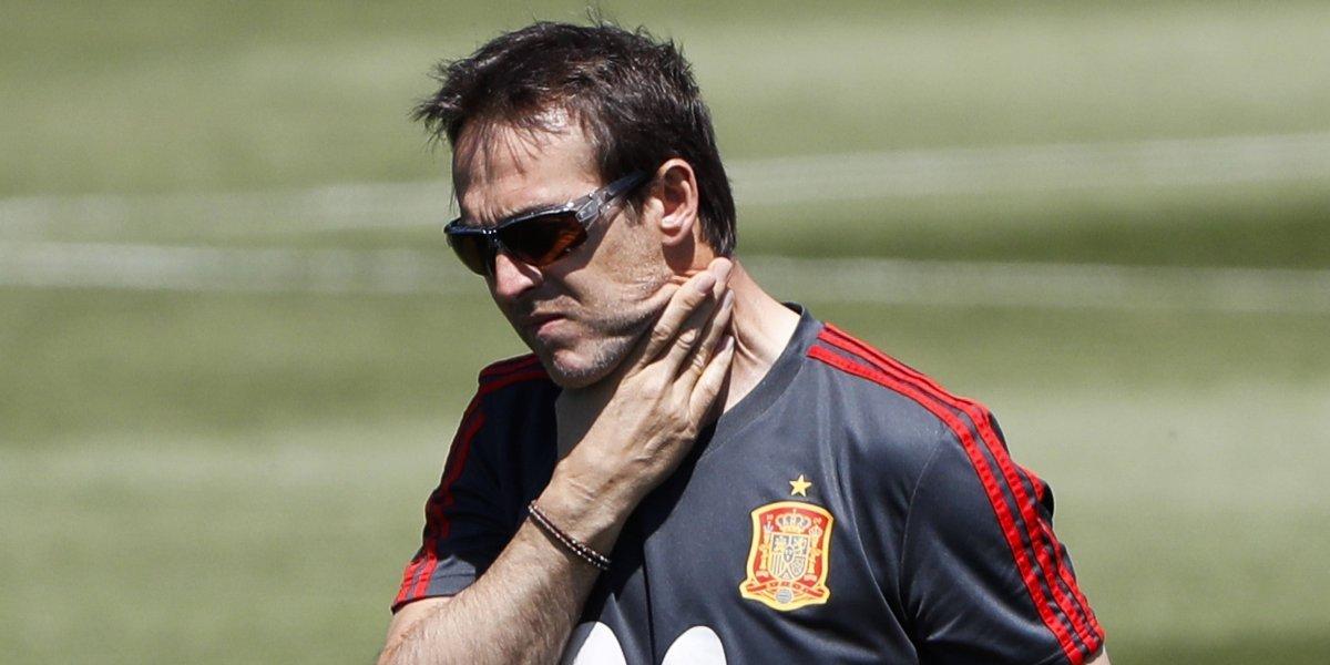 ¡Arde España! Echaron a Julen Lopetegui a dos días del debut vs. Portugal