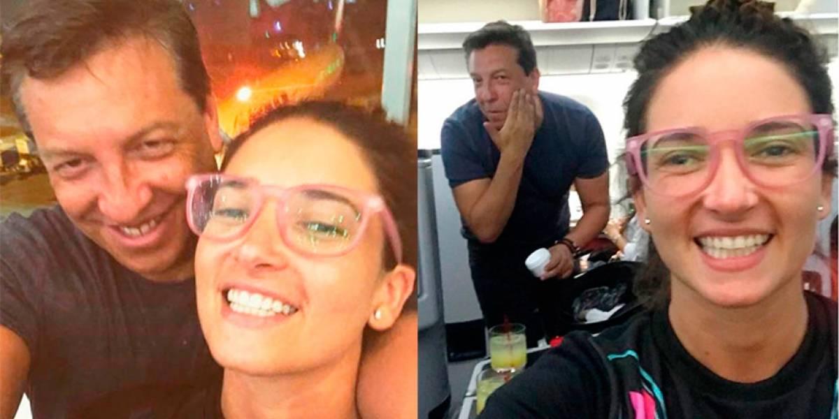 ¿Problemas en el paraíso?: Camila Nash y Julio César Rodríguez habrían terminado su relación