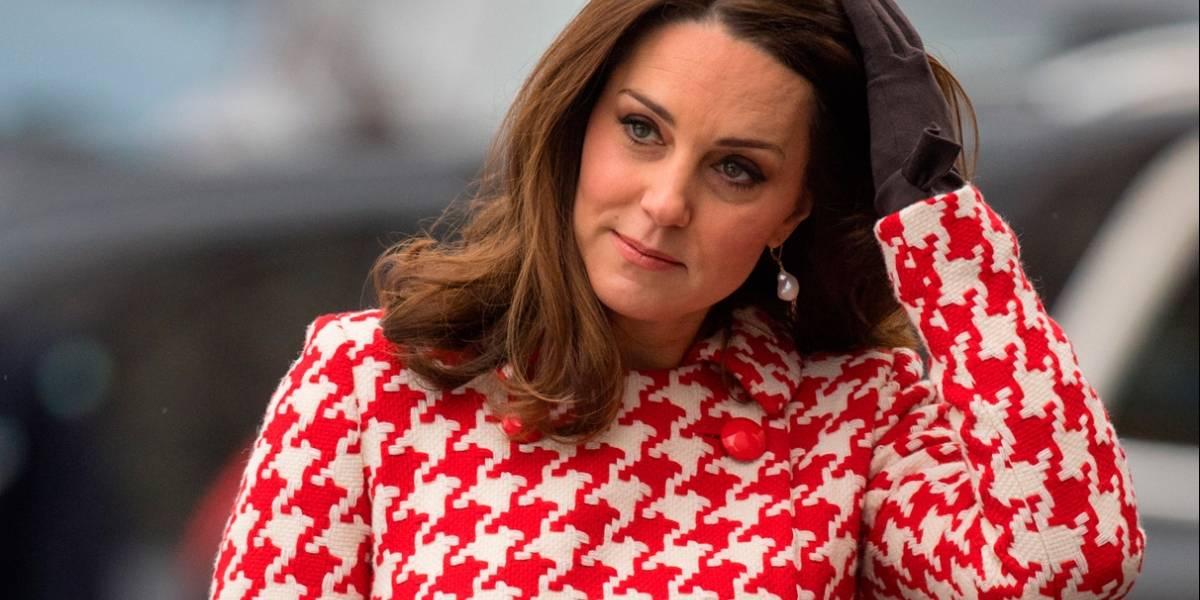 Esta es la razón por la que Kate Middleton no se quita el abrigo