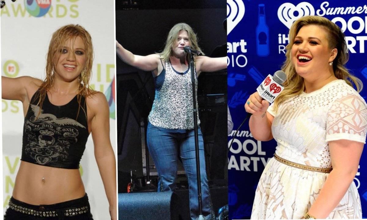 Kelly Clarkson antes y después