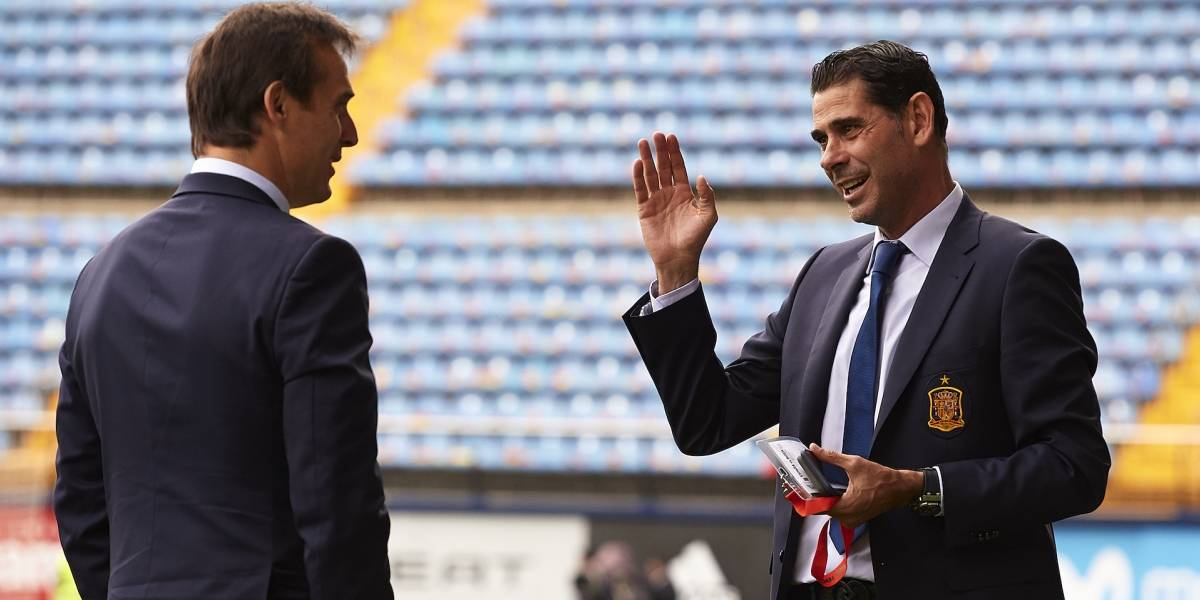 Lopetegui se va de España a dos días del debut; Hierro lo suplirá