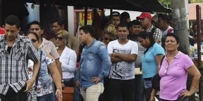 Nicaragüenses migrando