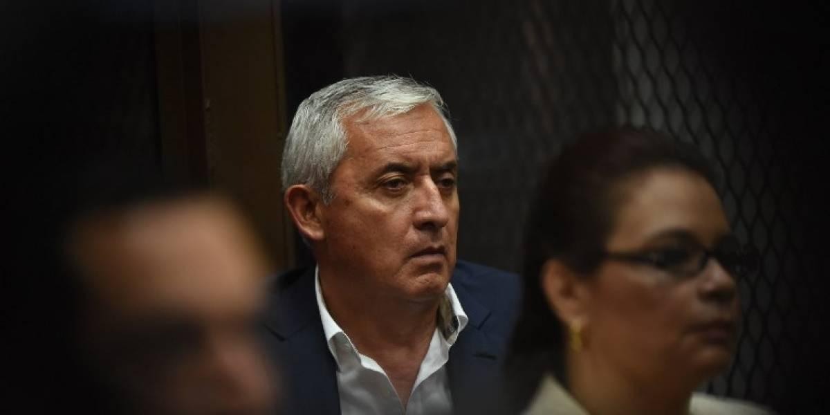 Q400 mil vinculados a Pérez y Baldetti pasan a favor del Estado