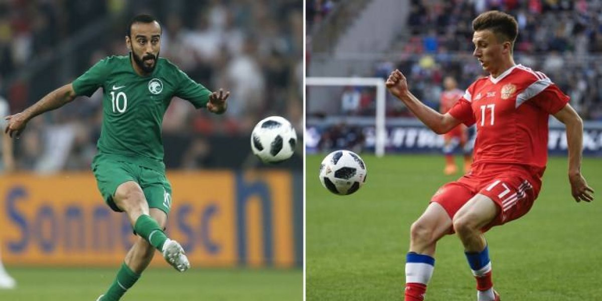Rusia y Arabia Saudita levantarán el telón del Mundial