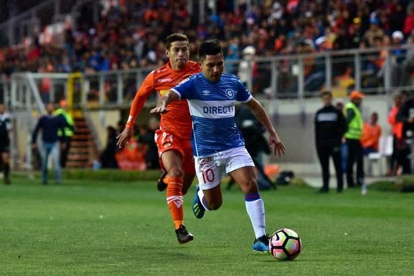 Diego Rojas tuvo un buen partido ante Cobreloa en Calama por Copa Chile / Foto: Photosport