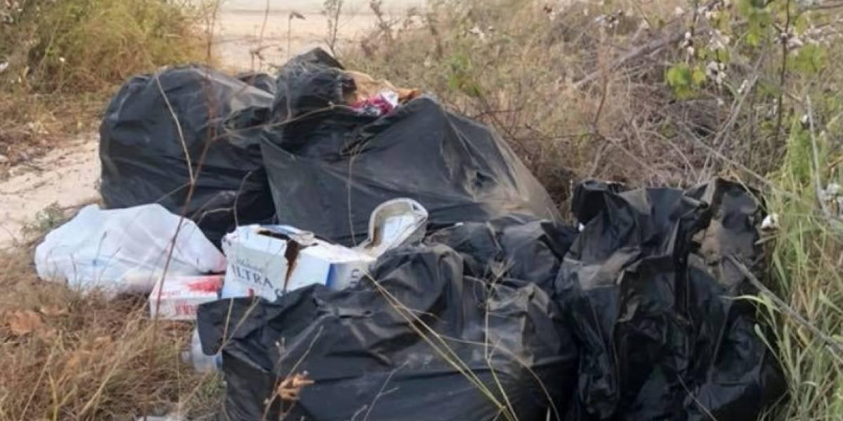 """Bañistas dejan como """"vertedero"""" playa en Guánica"""