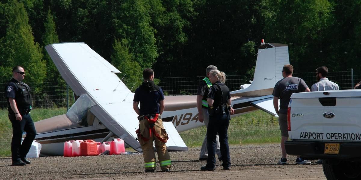 Dos aviones chocan en pleno vuelo en Alaska