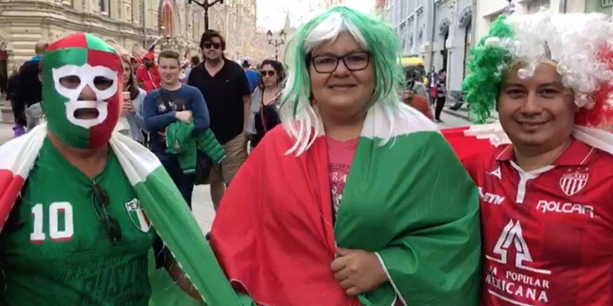 VIDEO: Así celebraron los mexicanos en Rusia ser sede del Mundial 2026