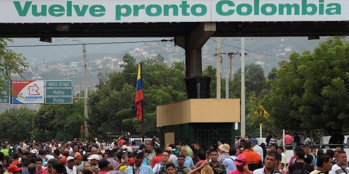 Más de un millón de personas migraron de Venezuela a Colombia en 16 meses