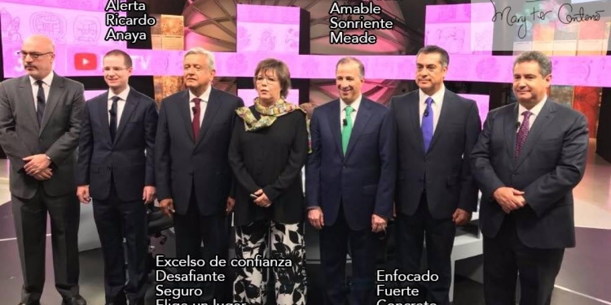 Meade, Anaya y López Obrador se dicen ganadores del debate; 'El Bronco', no