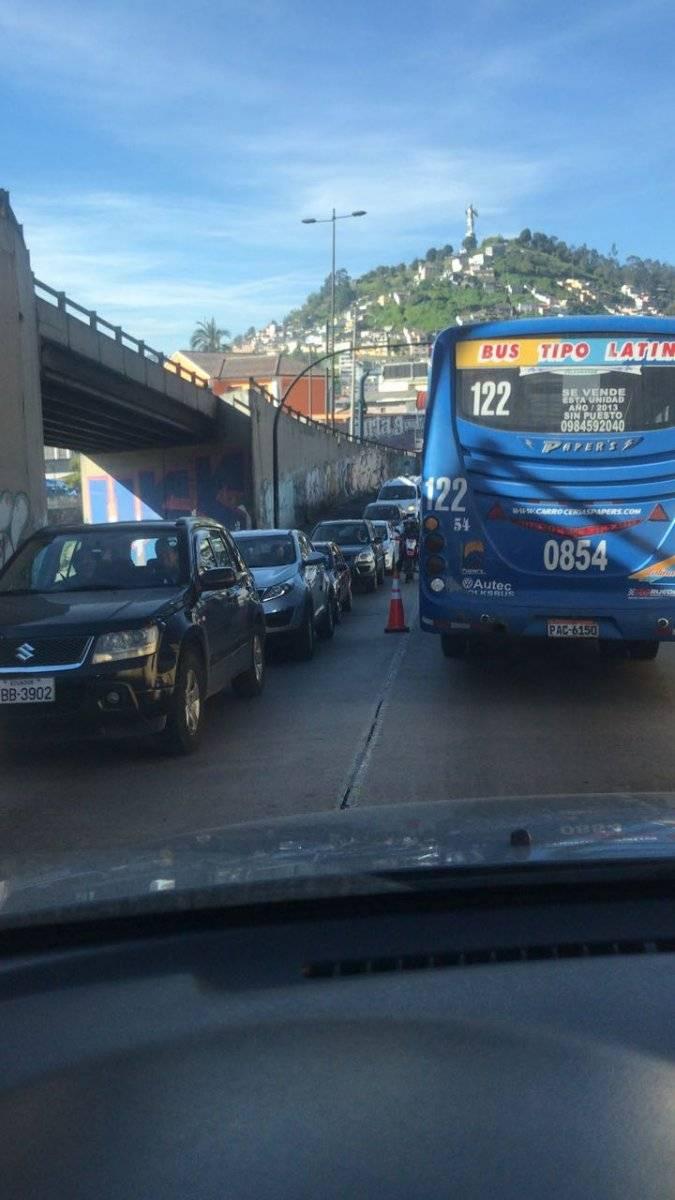 Quito: Agente Metropolitano herido tras accidente en San Roque CORTESÍA