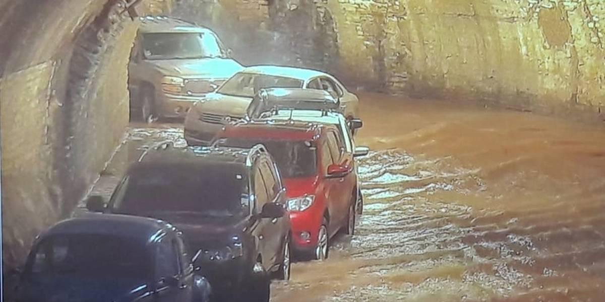 VIDEO: Se registran severas inundaciones en Guanajuato