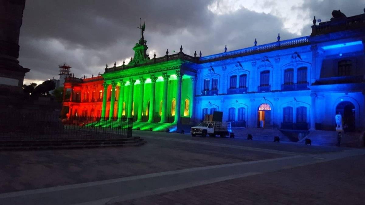 Palacio de Gobierno de Nuevo León   Foto: Especial