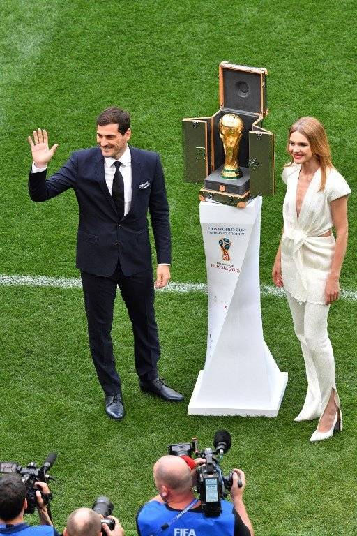 Iker Casillas y Natalia Vodiánova